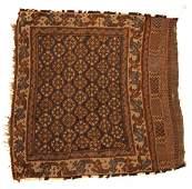 Antique Persian bagface, approx. 1.9 x 1.9