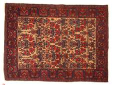 Antique Afshar rug approx 48 x 64
