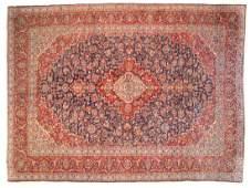 Persian Keshan carpet approx 910 x 132