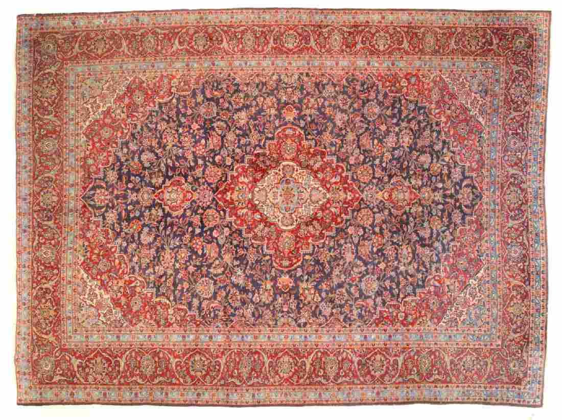 Persian Keshan carpet, approx. 9.10 x 13.2