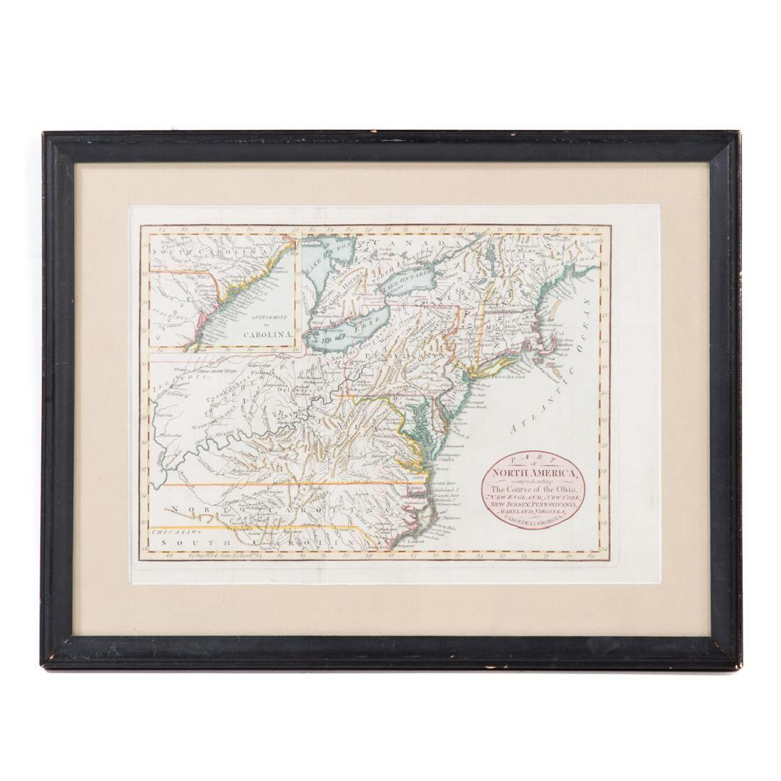 John Carey. North America map