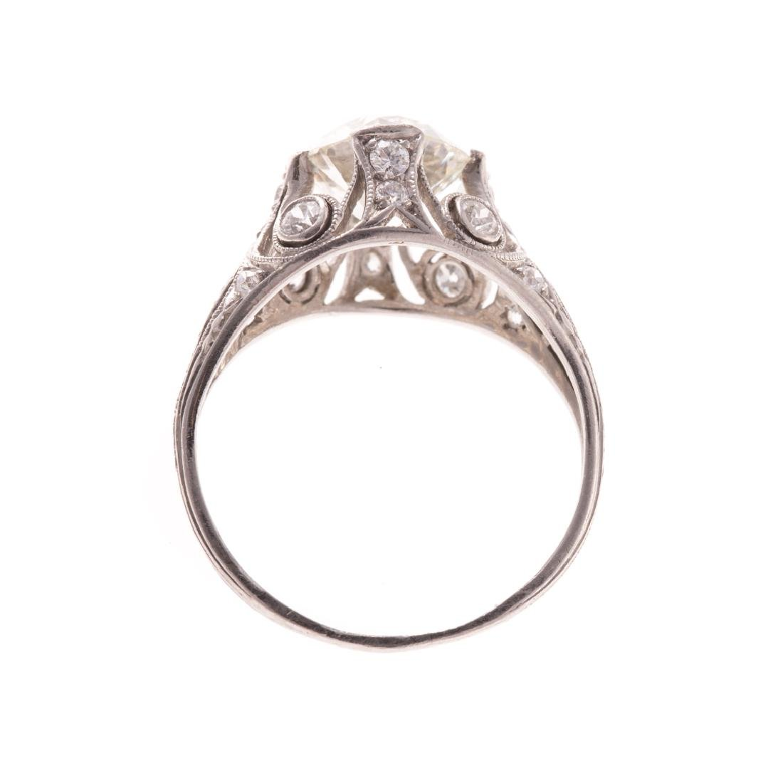 A Lady's 1.75 ct. Round Diamond Ring in Platinum - 3