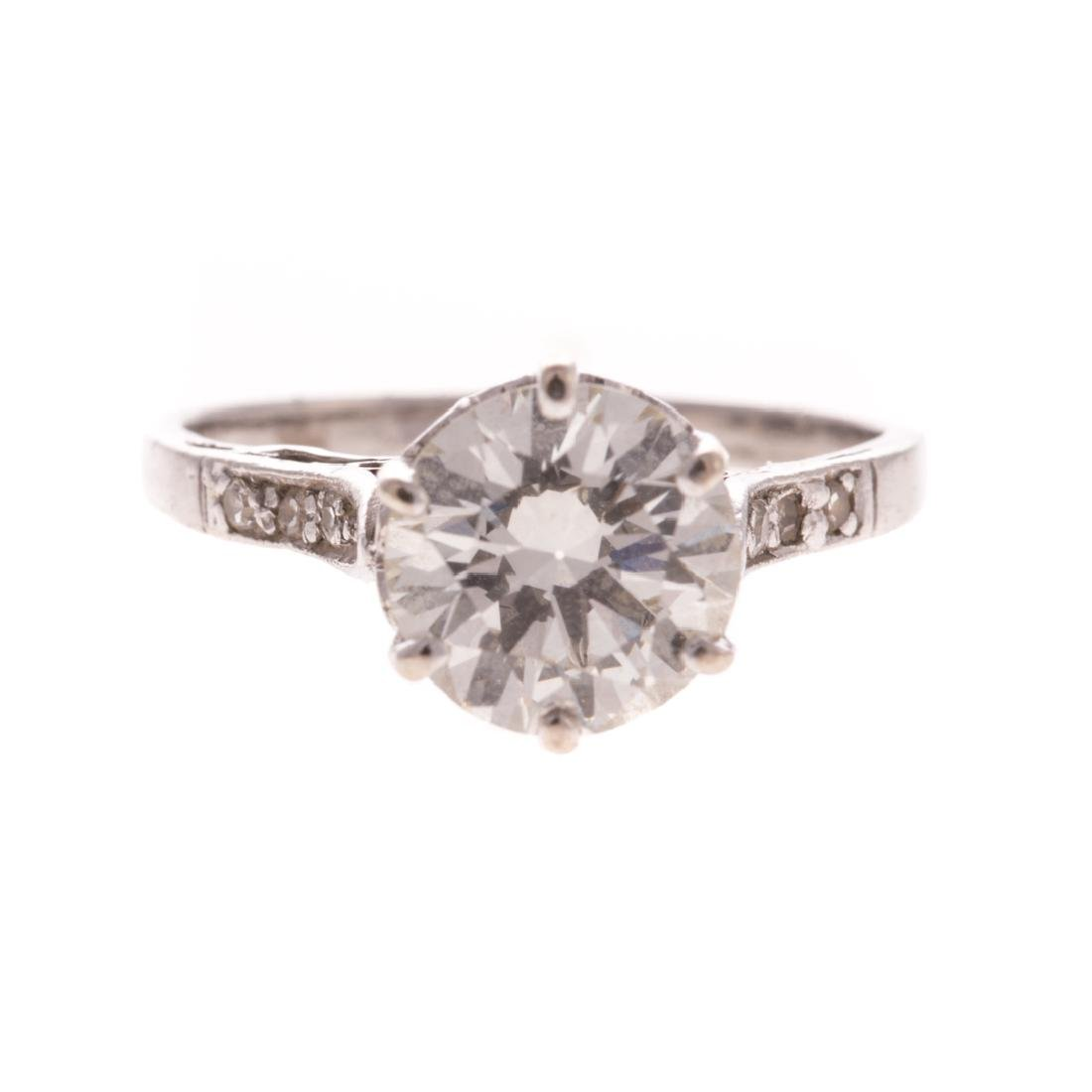 A Lady's 1.75 ct Diamond Solitaire Ring