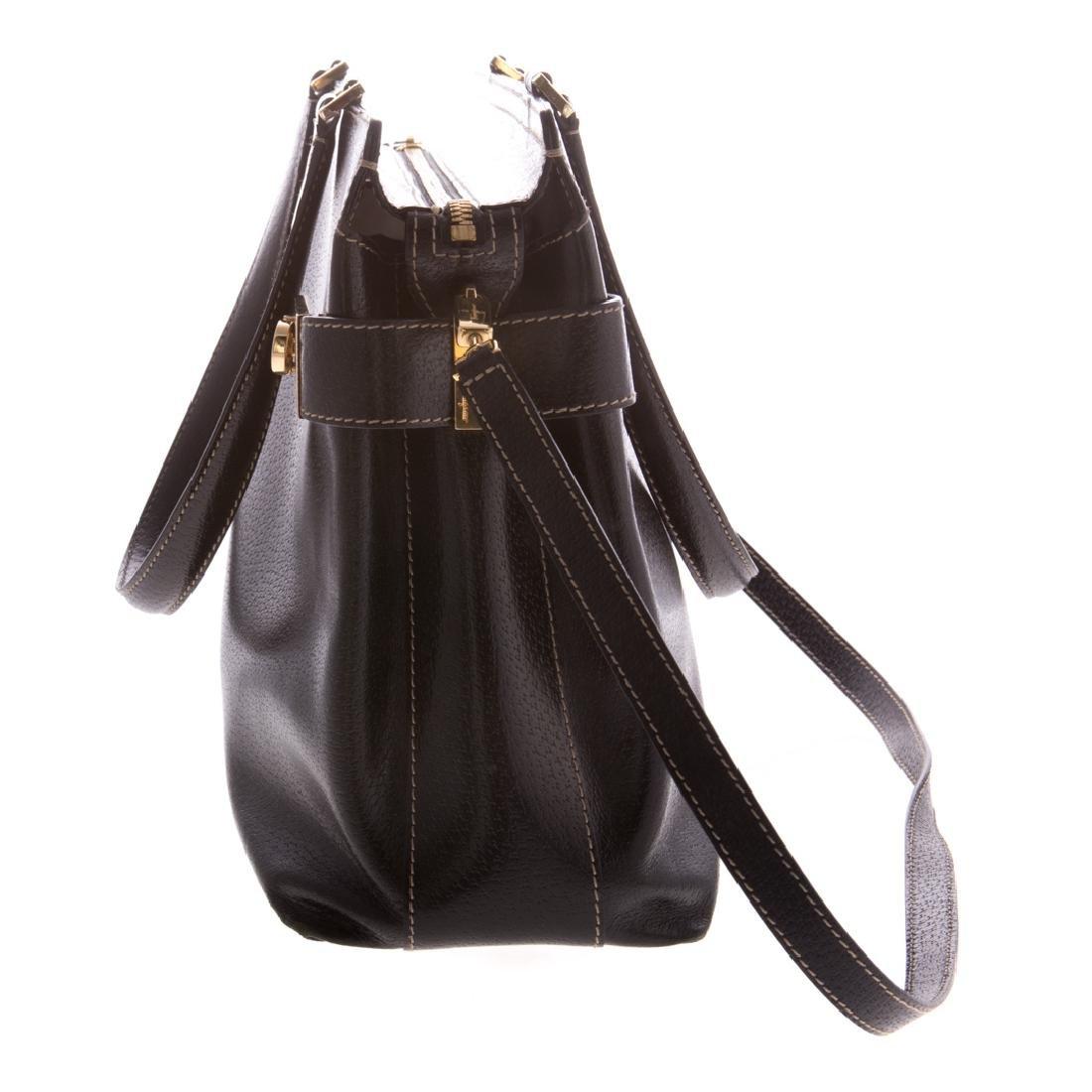 A Salvatore Ferragamo Gancini Handbag - 3