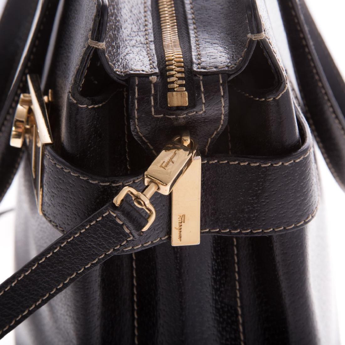 A Salvatore Ferragamo Gancini Handbag - 5
