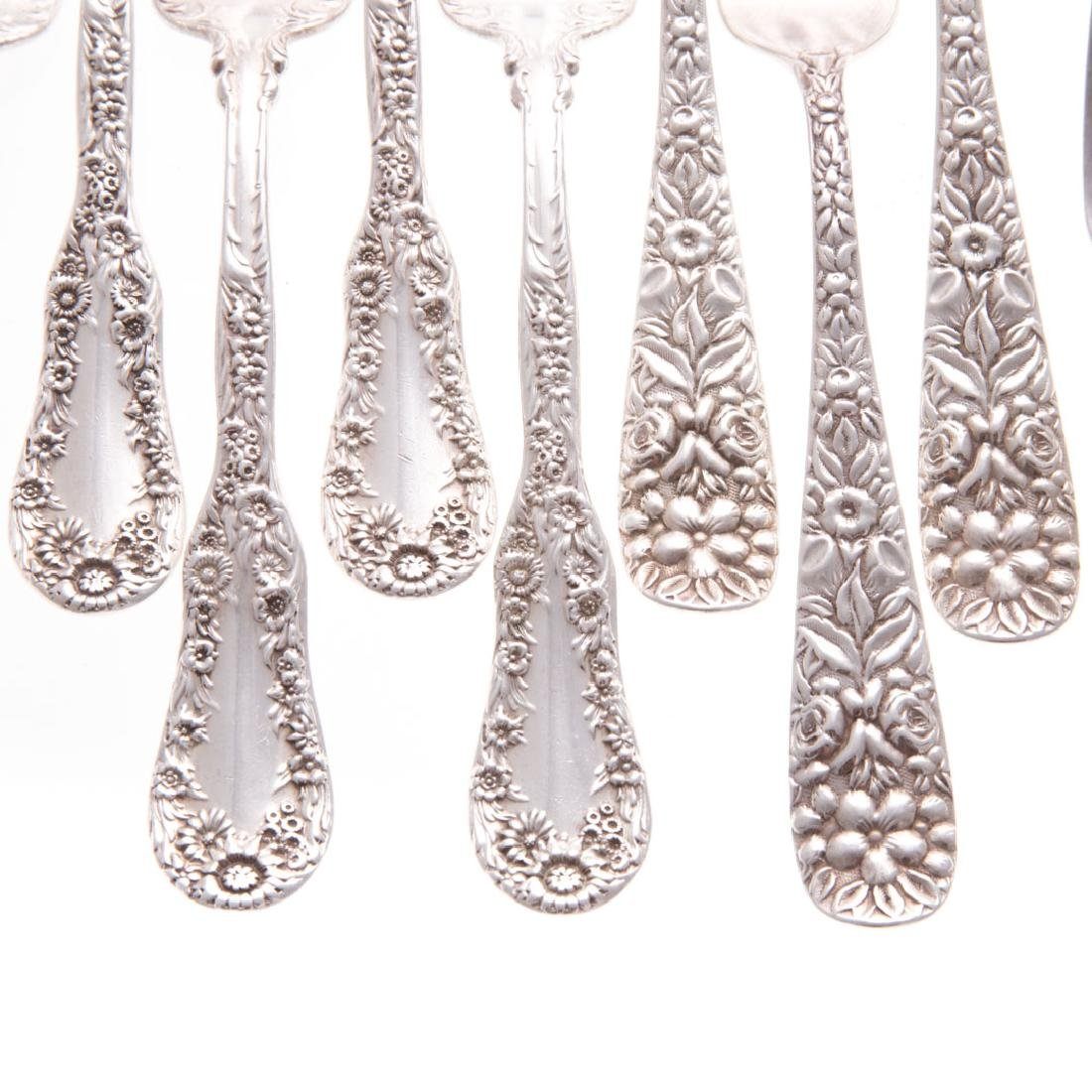 A collection of American sterling flatware - 2