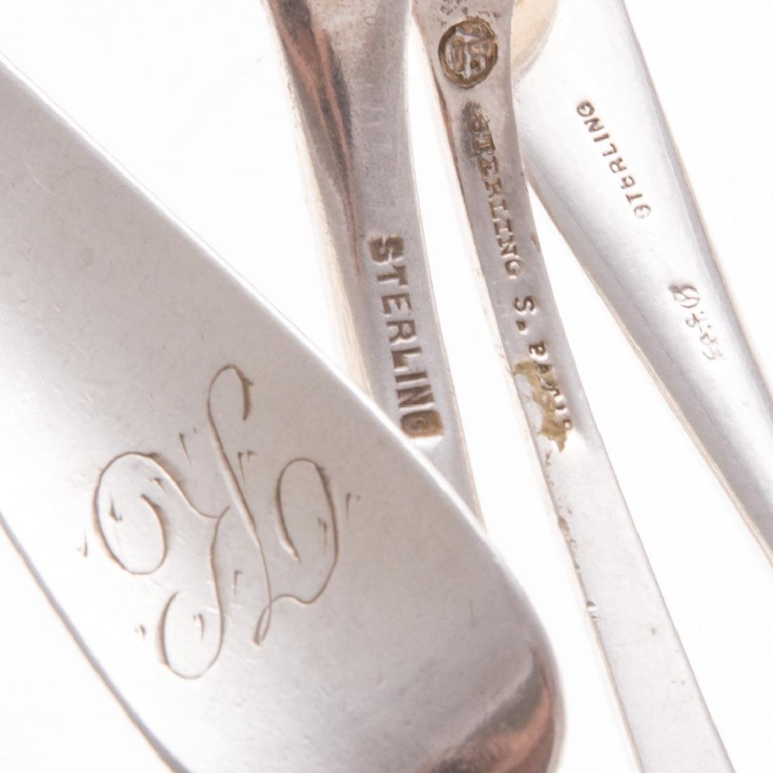 A collection of American sterling flatware - 4
