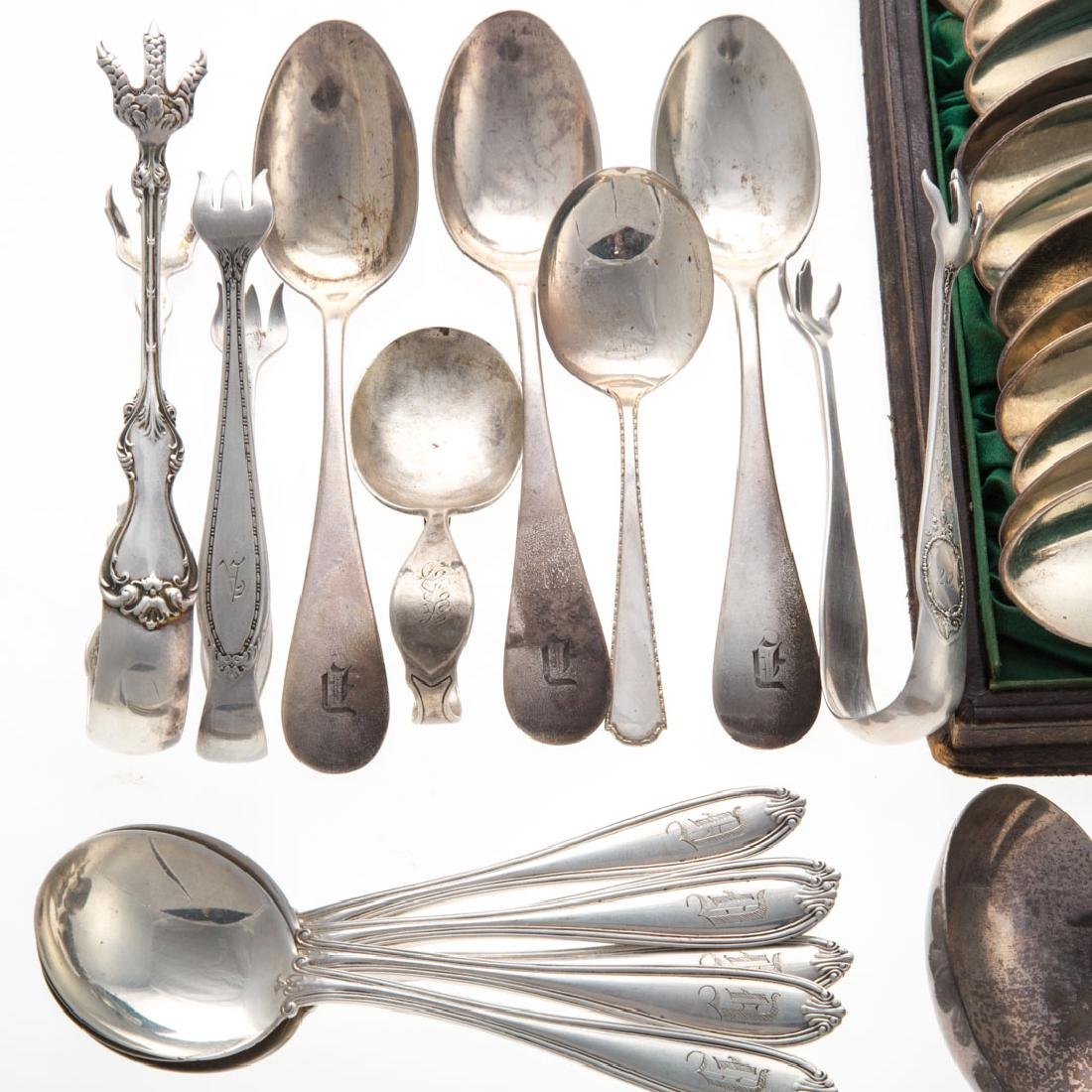 Assorted American sterling silver flatware (38) - 3