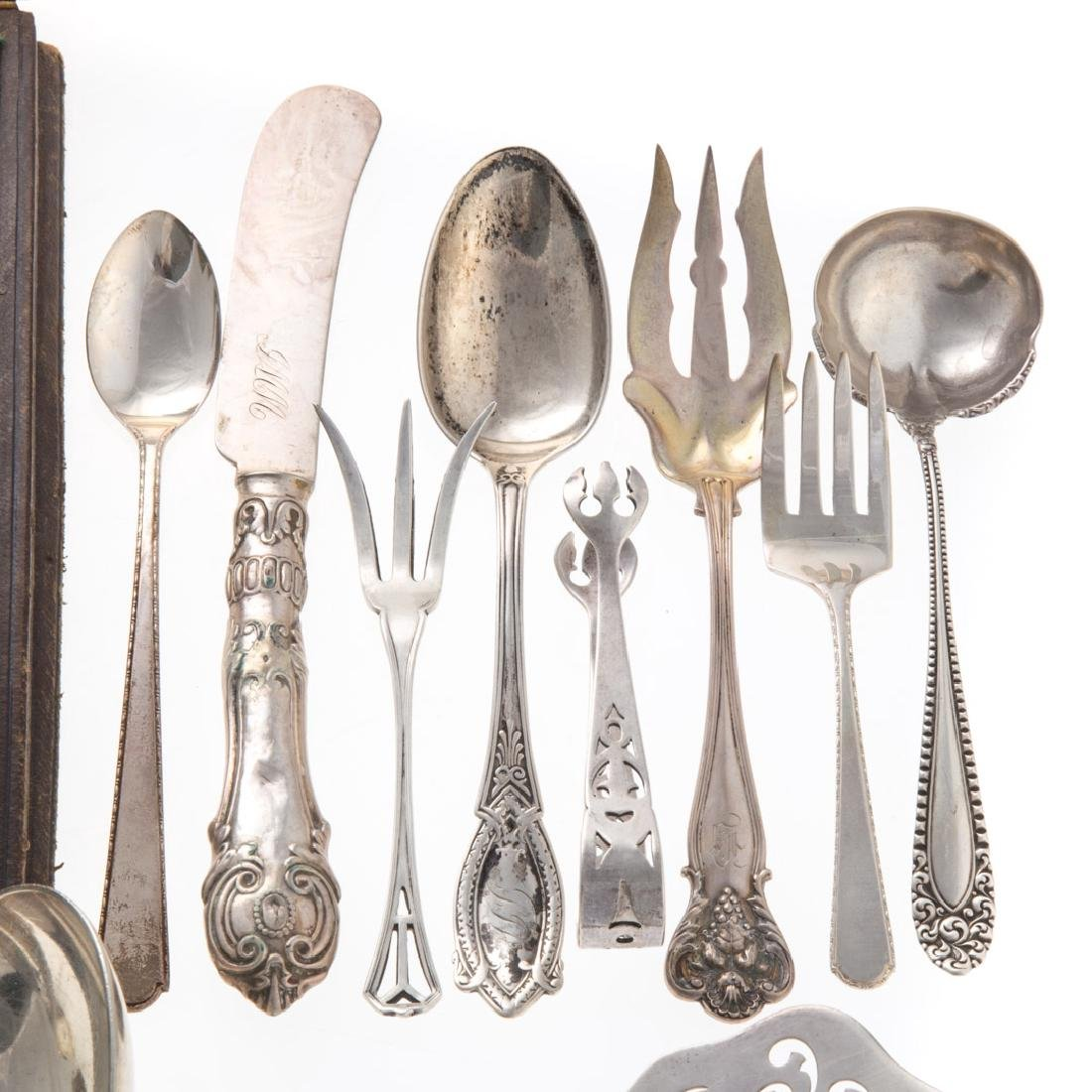 Assorted American sterling silver flatware (38) - 4