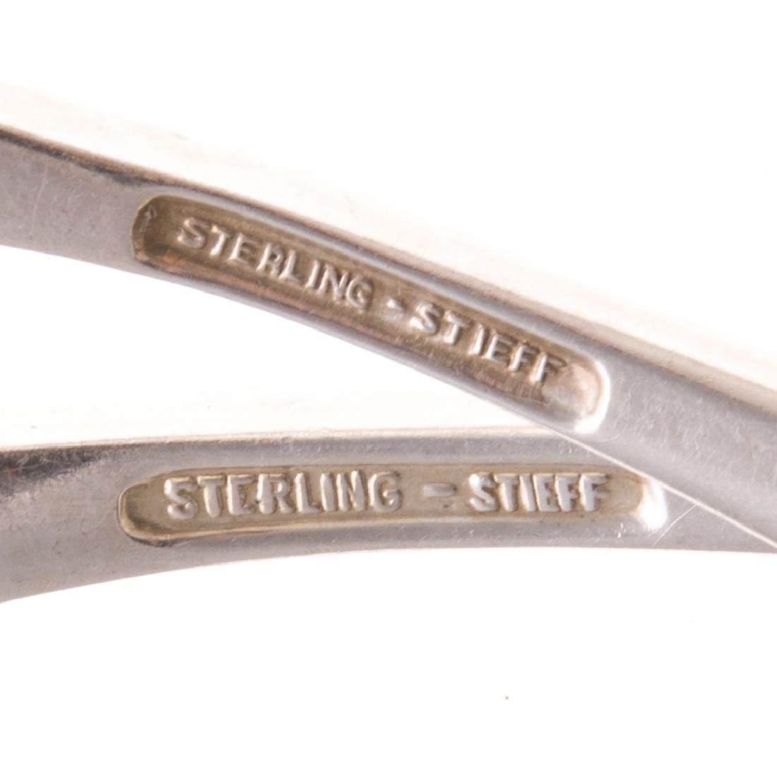 "Stieff ""Rose"" sterling serving pieces (24) - 5"