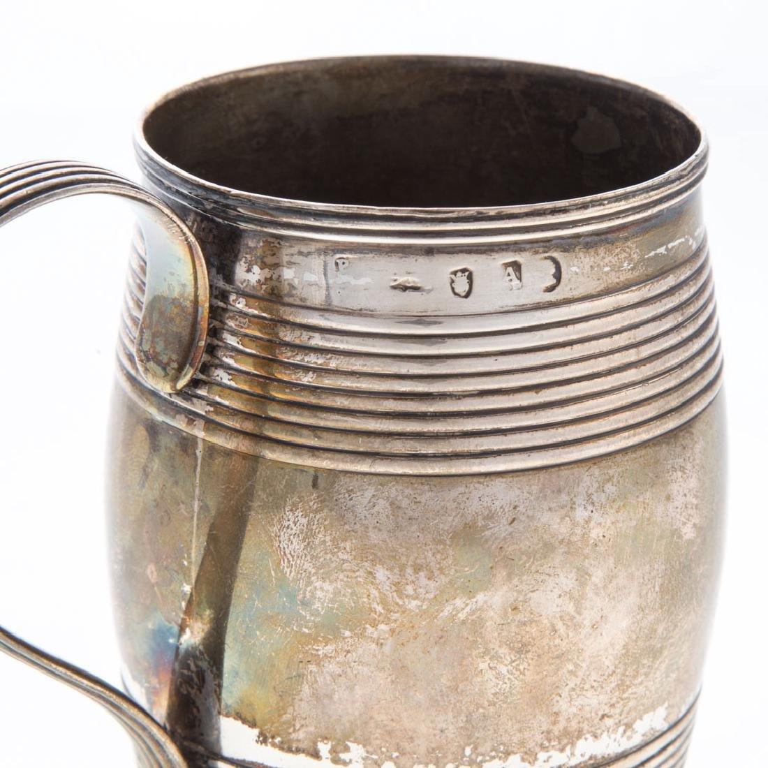 George III silver cann - 2