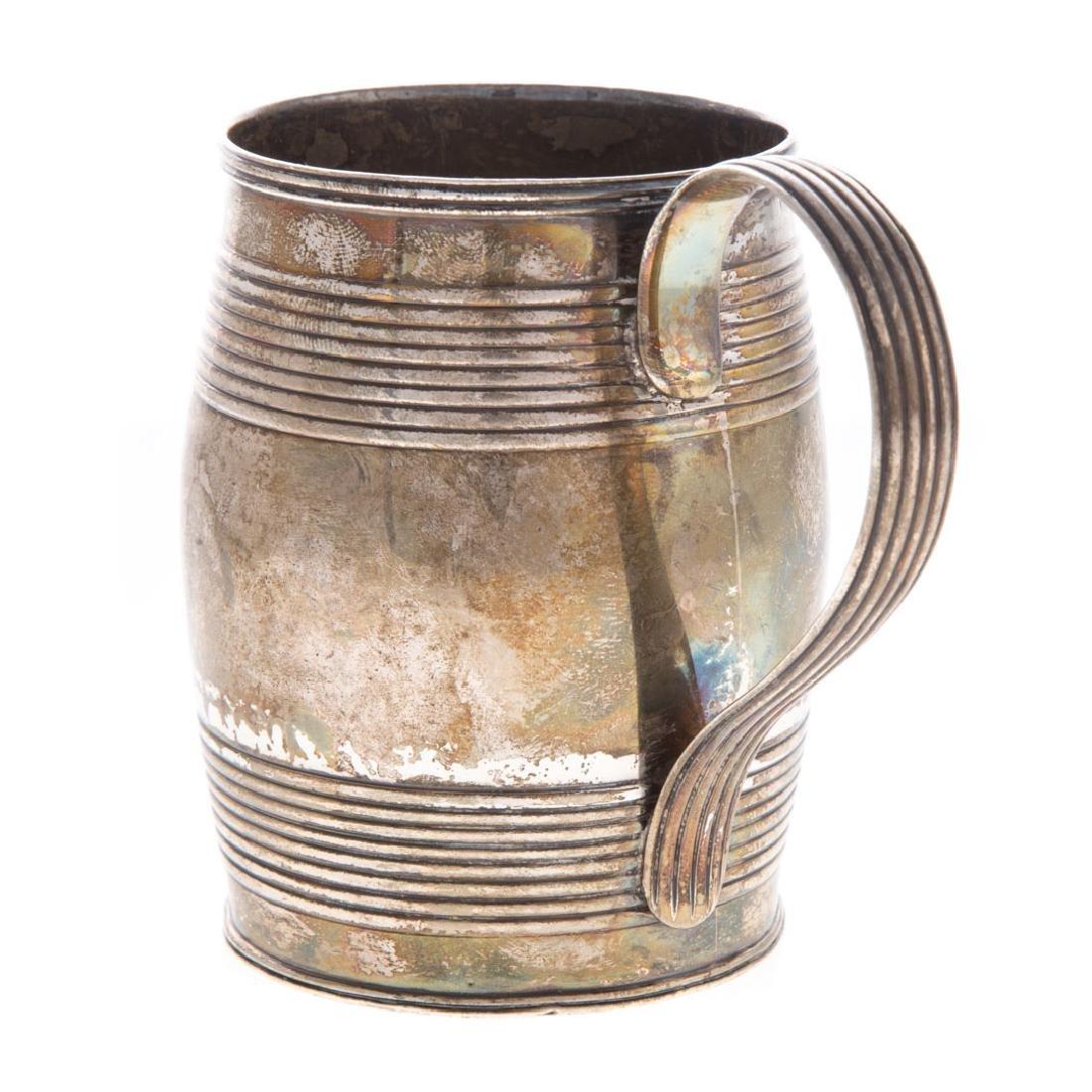 George III silver cann - 3