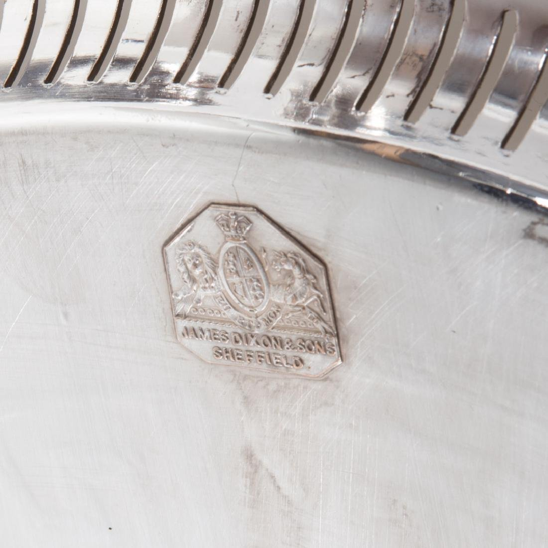 Sheffield plated butler's tray James Dixon & Sons - 8
