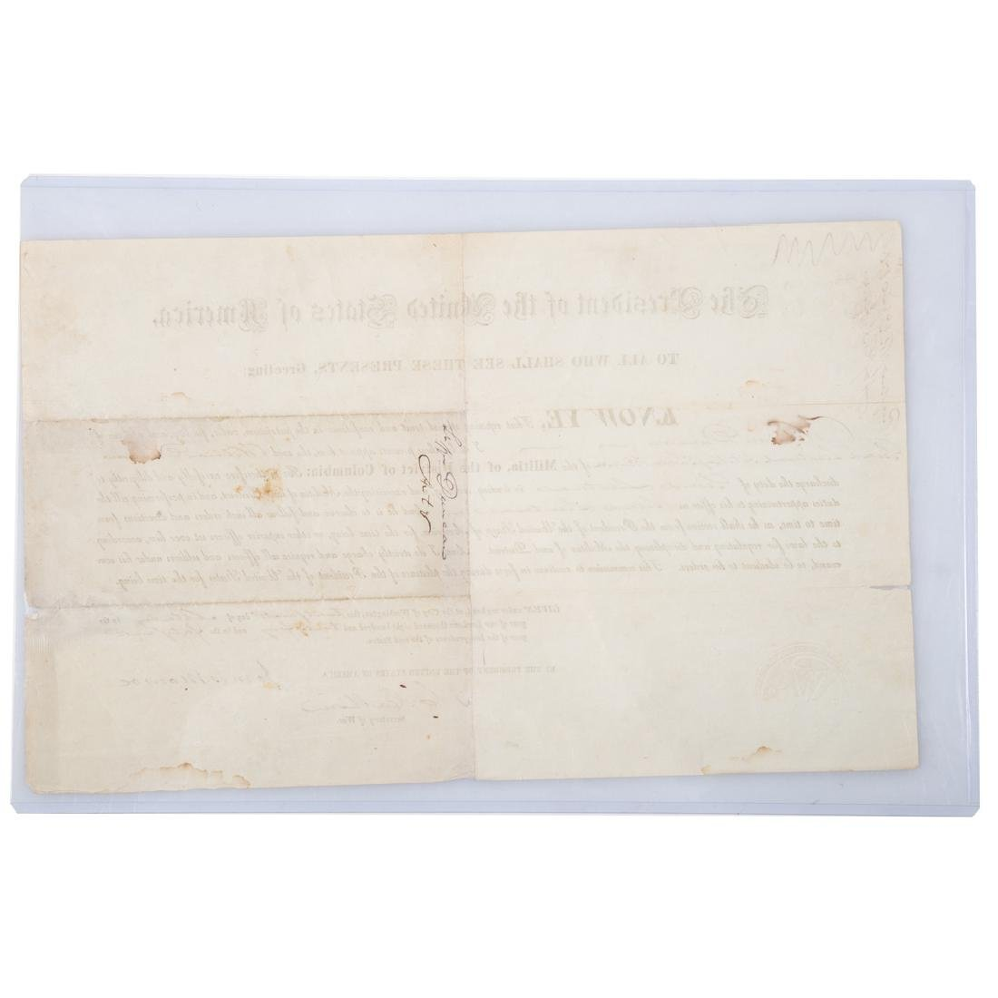 James Monroe signed military appointment - 4