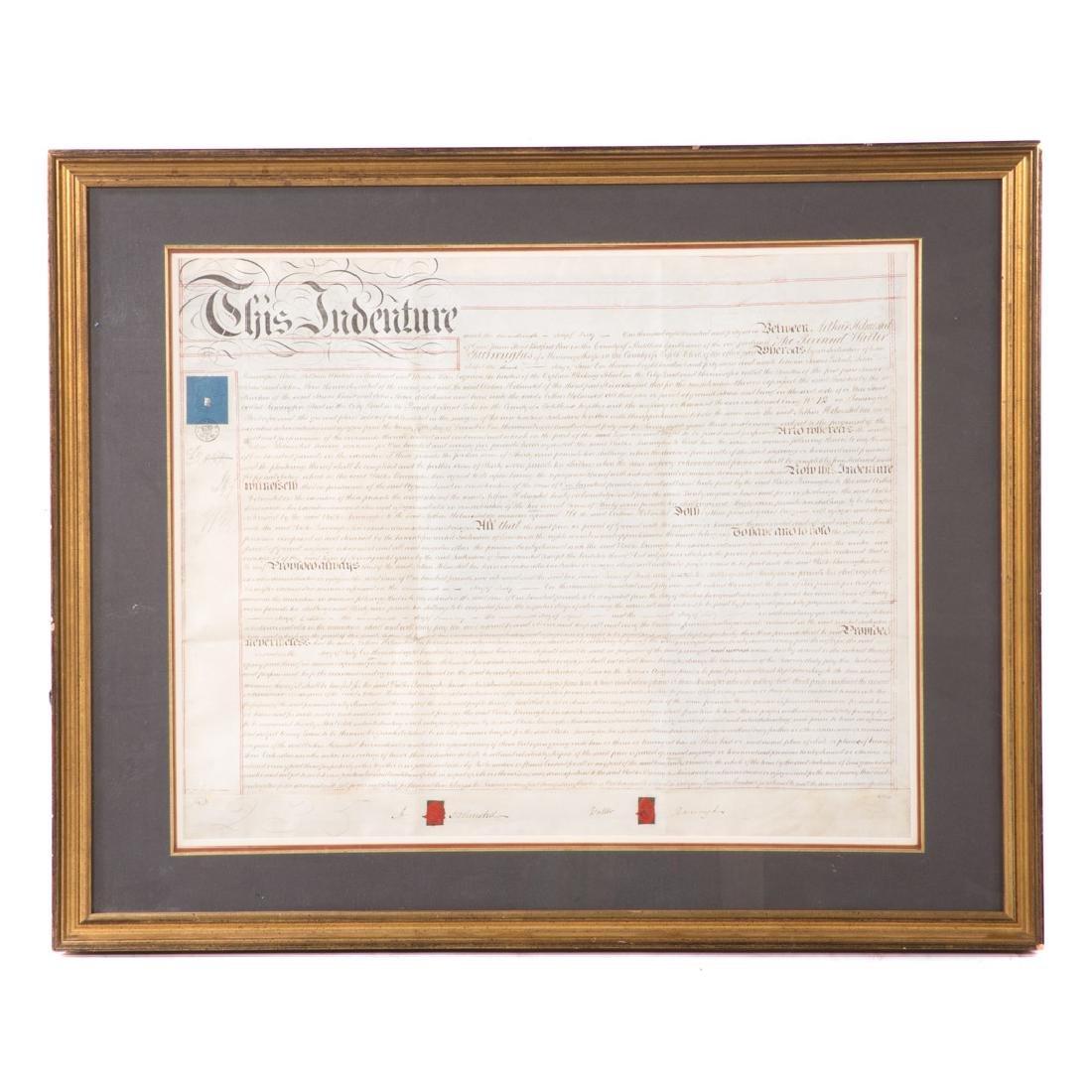 Indenture document
