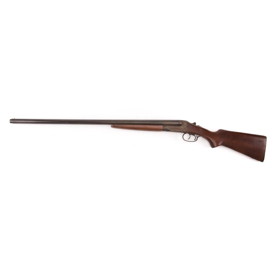 Stevens double barrel shotgun - 2