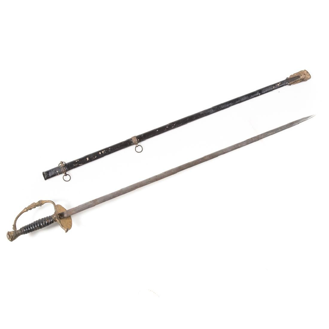 Model 1860 Civil War officer's sword
