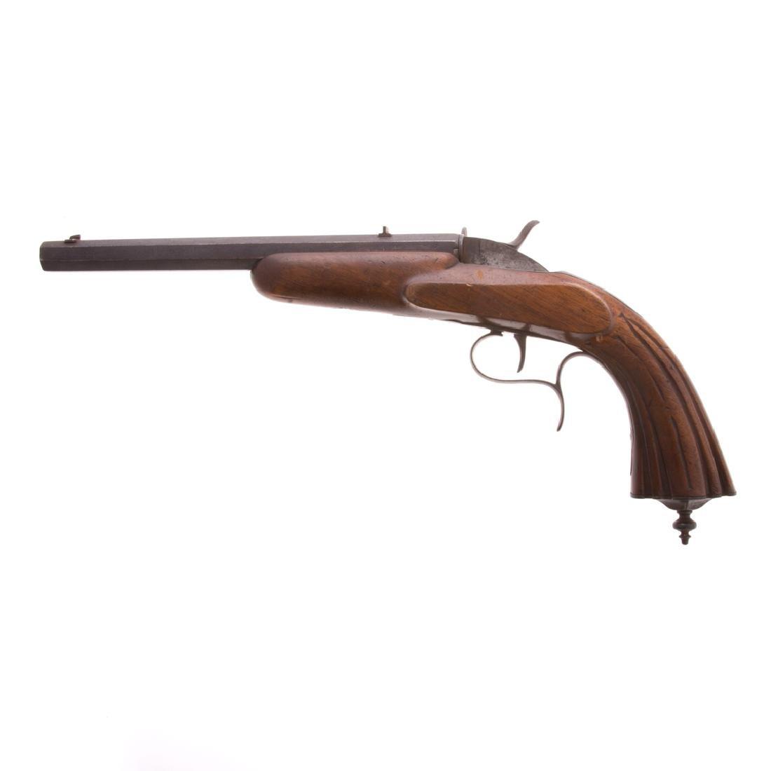 Single barrel percussion pistol - 2
