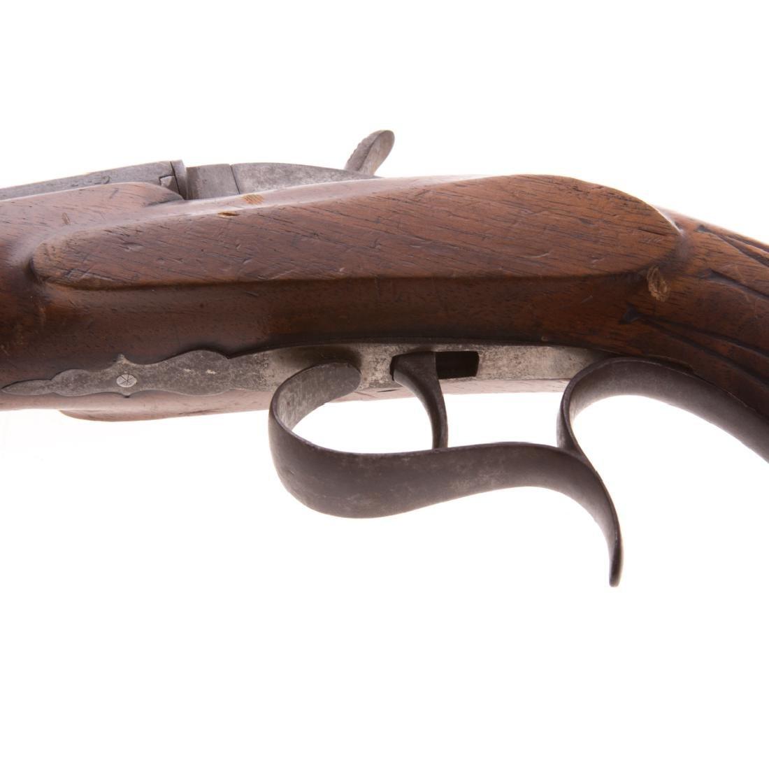 Single barrel percussion pistol - 3