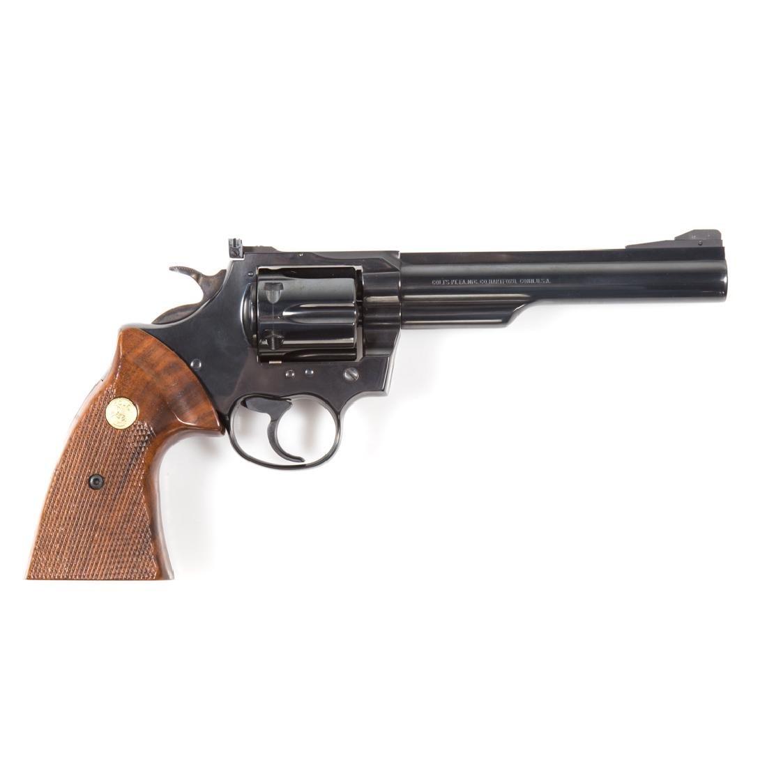 Colt Trooper MK III 357 magnum revolver