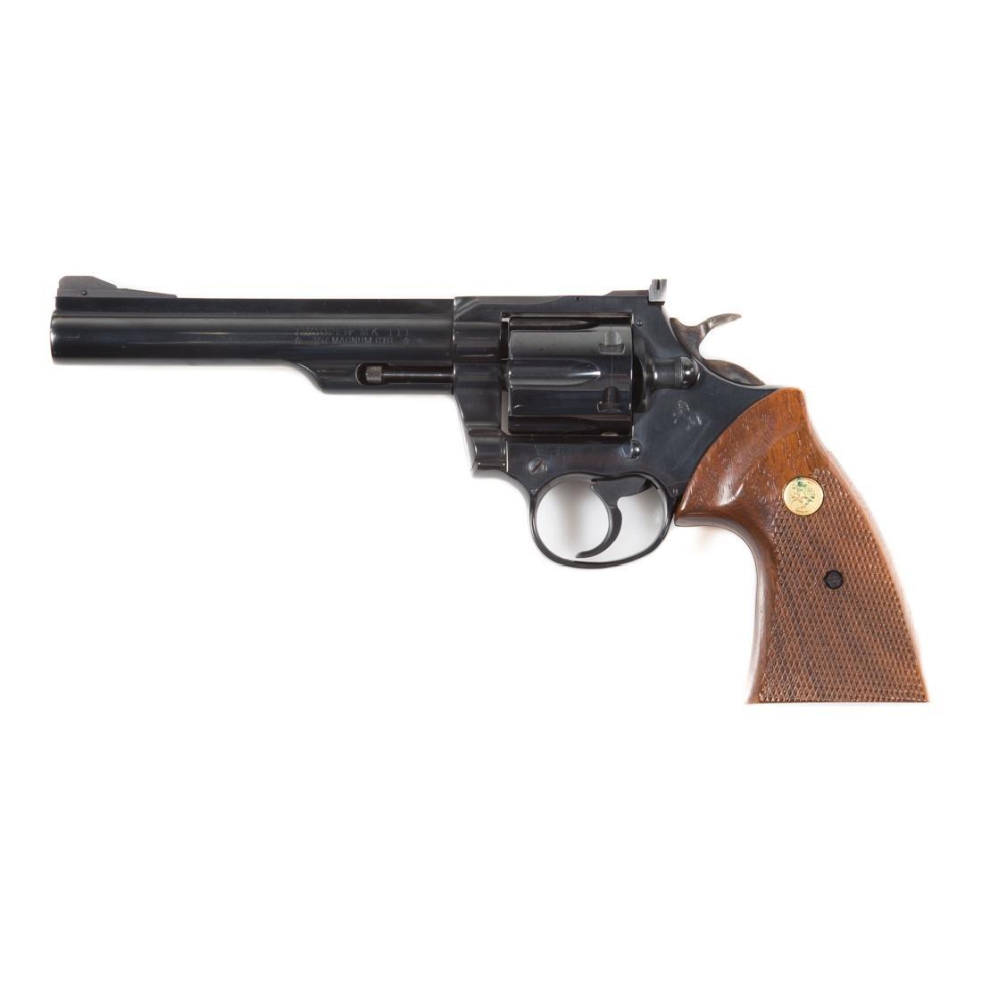 Colt Trooper MK III 357 magnum revolver - 3