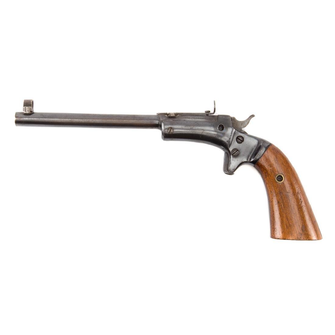 J. Stevens single shot pistol - 2