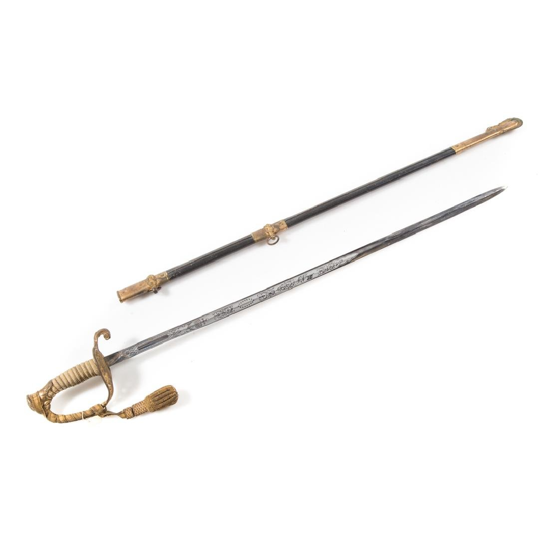 Navy officer's dress sword