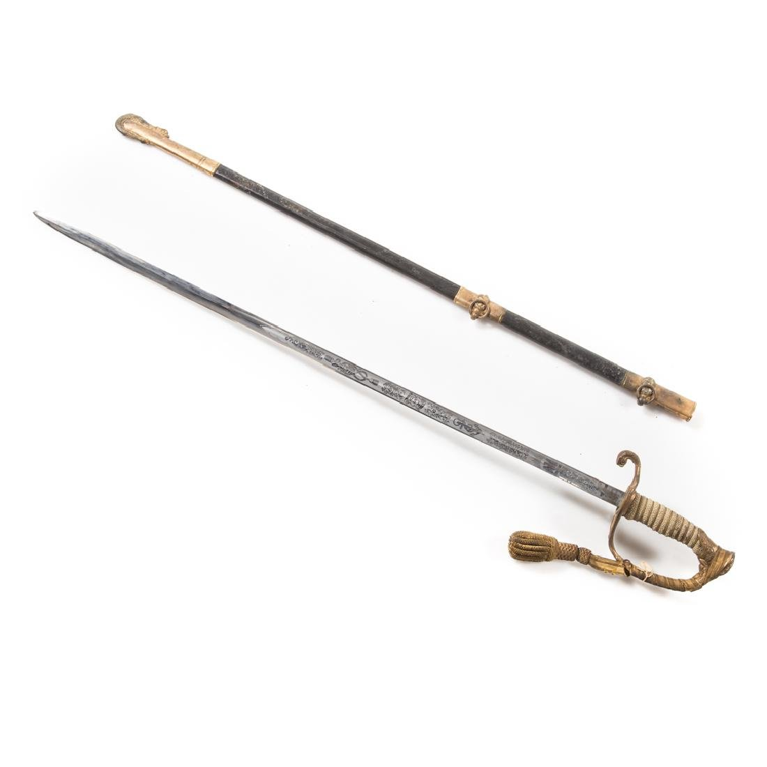 Navy officer's dress sword - 4