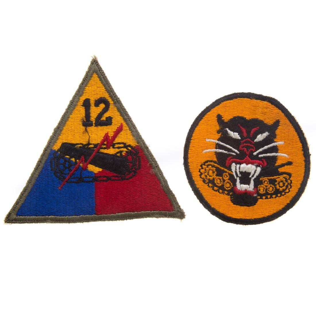 13 US Armored Div. & 1 Tank Destroyer patches - 2
