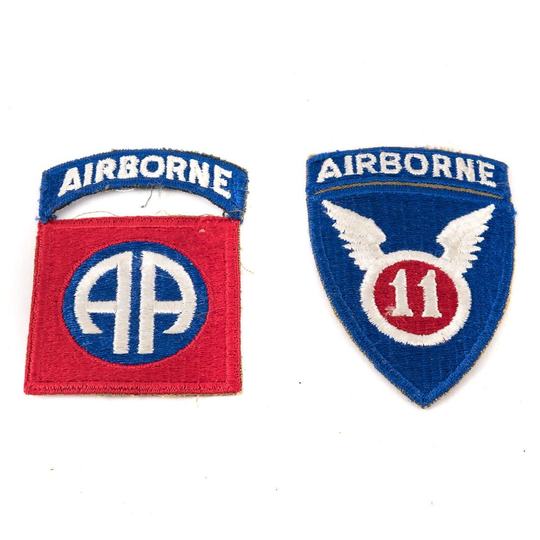 Five US Airborne Div. patches - 2