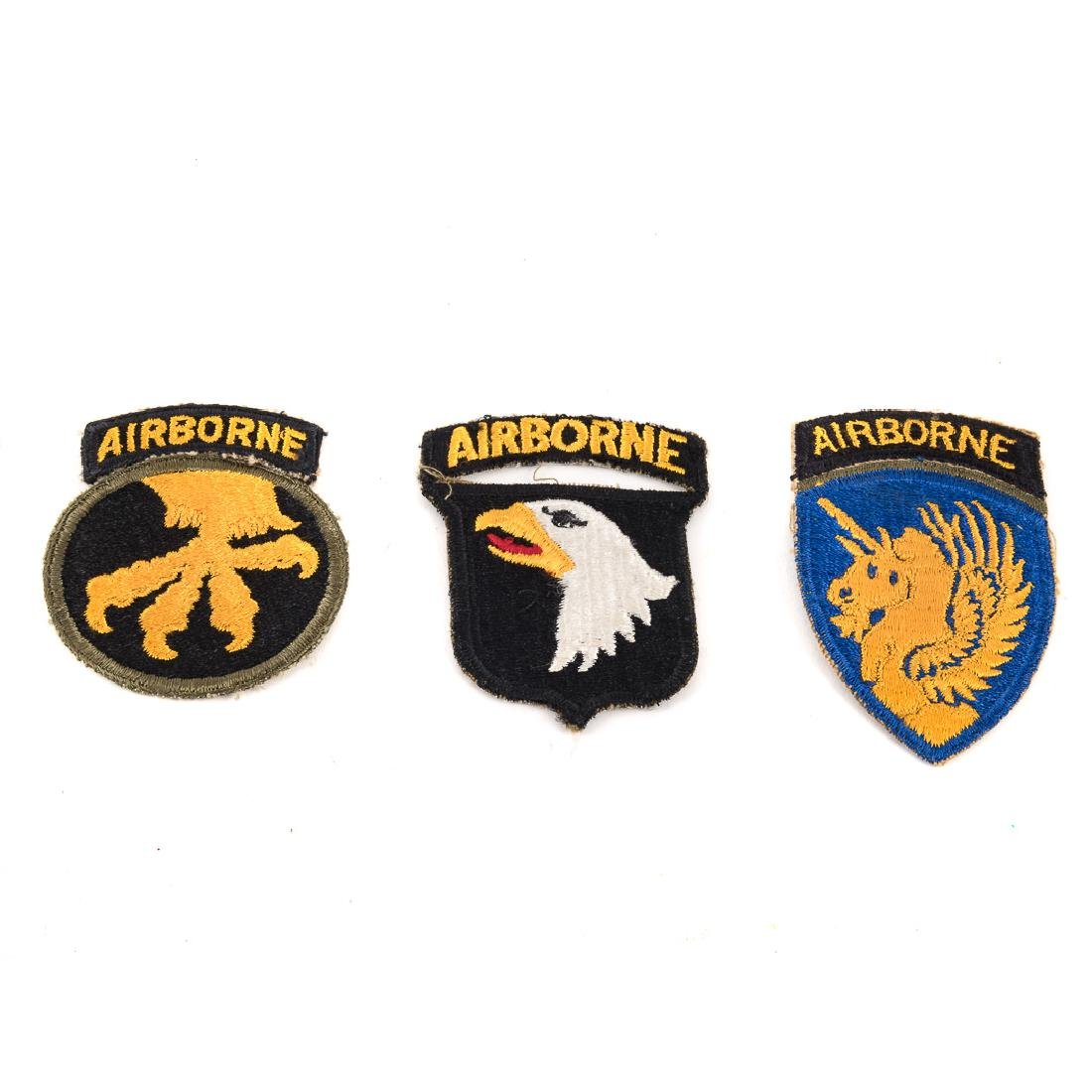 Five US Airborne Div. patches - 3