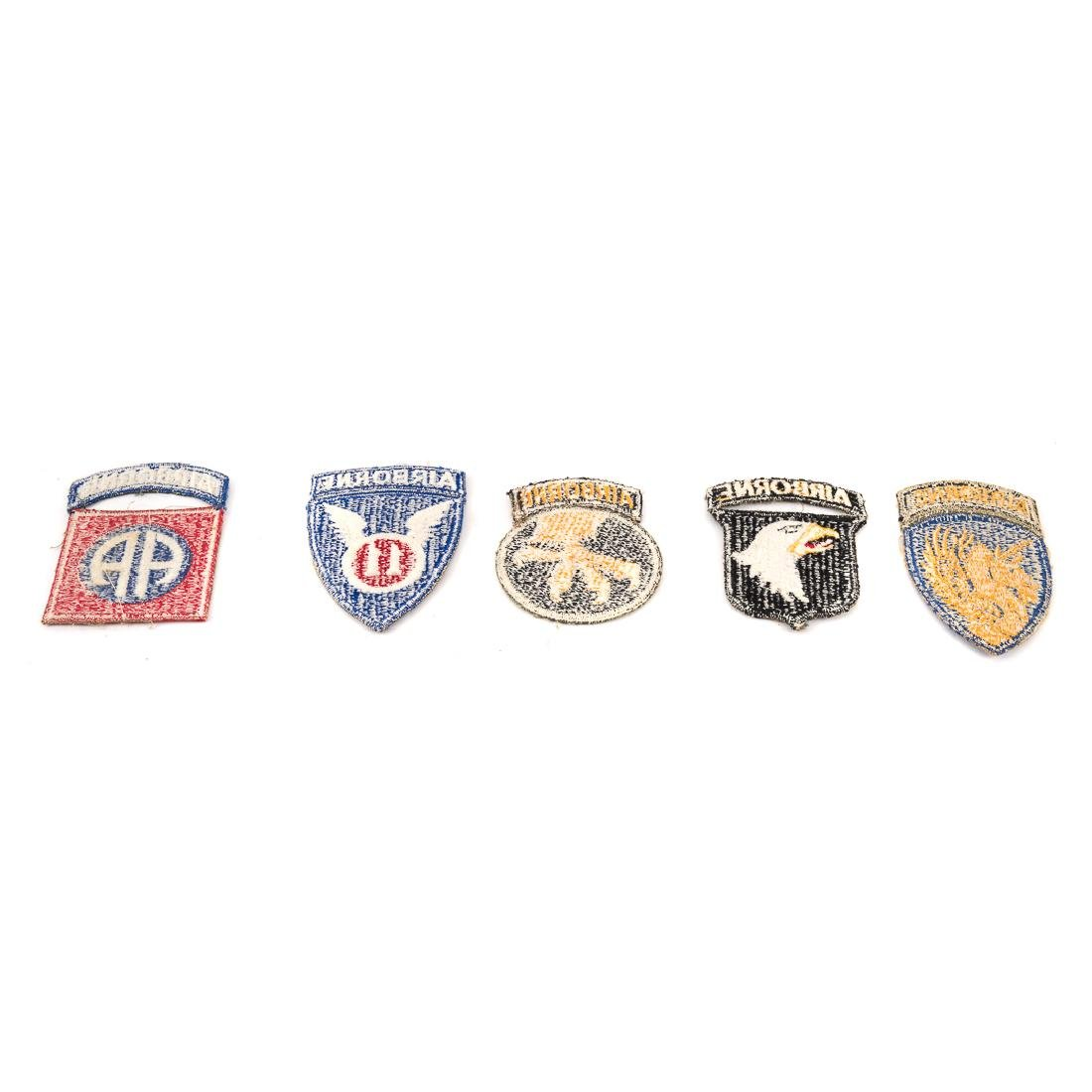Five US Airborne Div. patches - 4