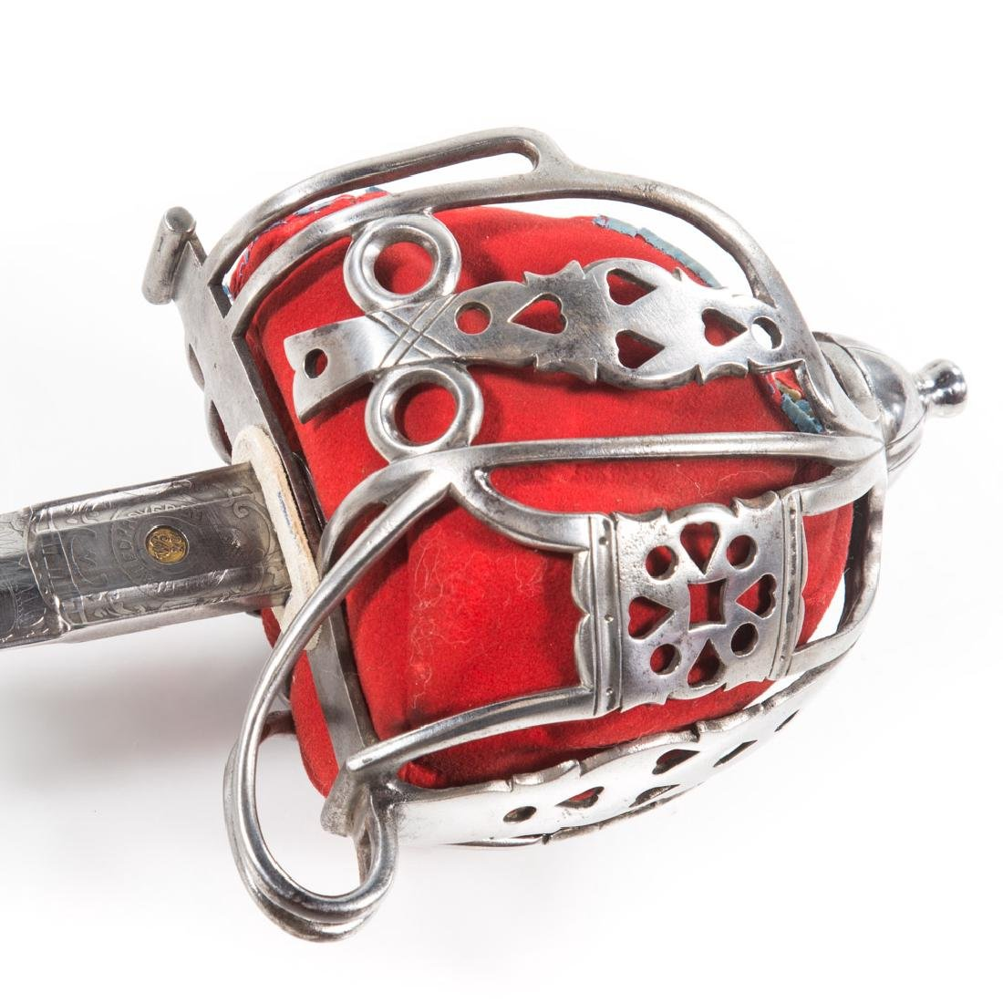 Reproduction of Highland regiment basket sword - 2
