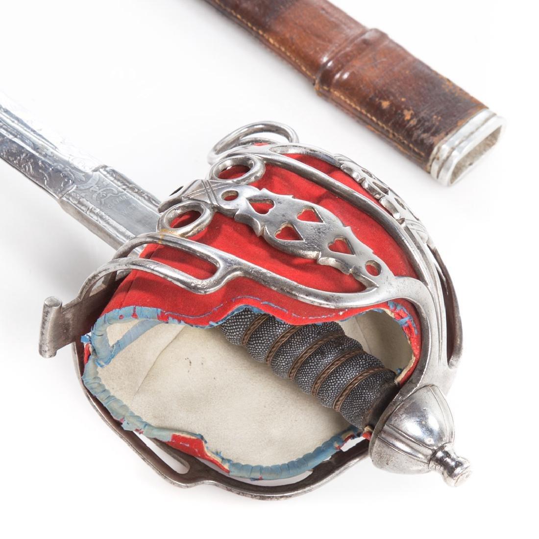 Reproduction of Highland regiment basket sword - 7