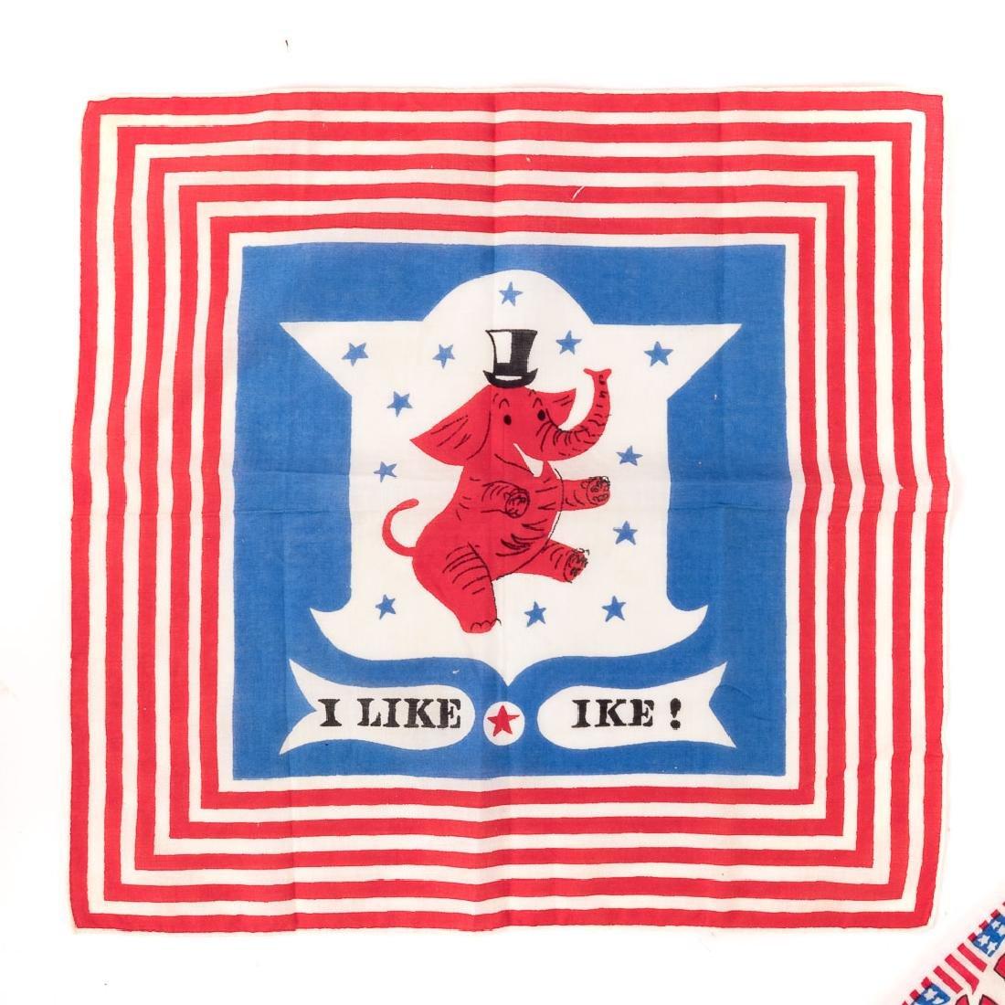 Three commemorative handkerchiefs - 2
