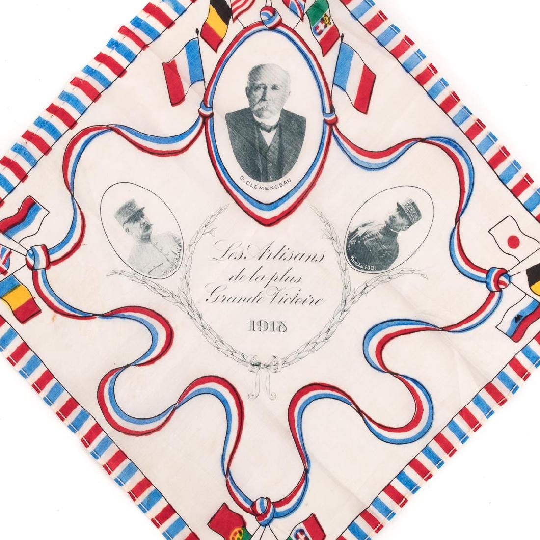 Three commemorative handkerchiefs - 5