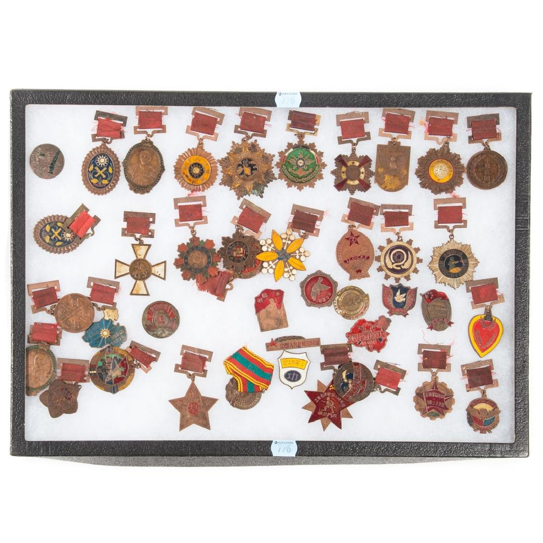 Collection of Chinese military medals