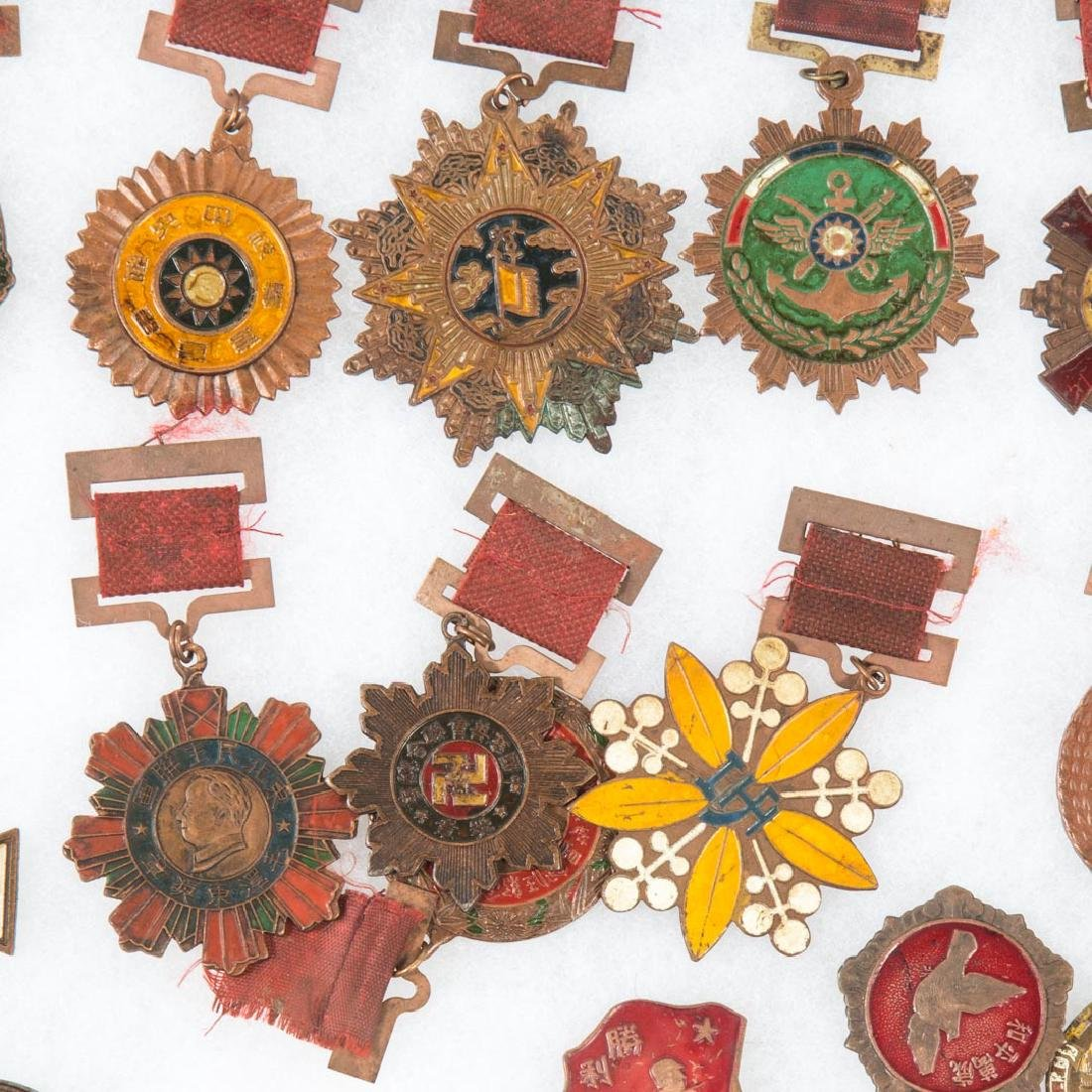 Collection of Chinese military medals - 2