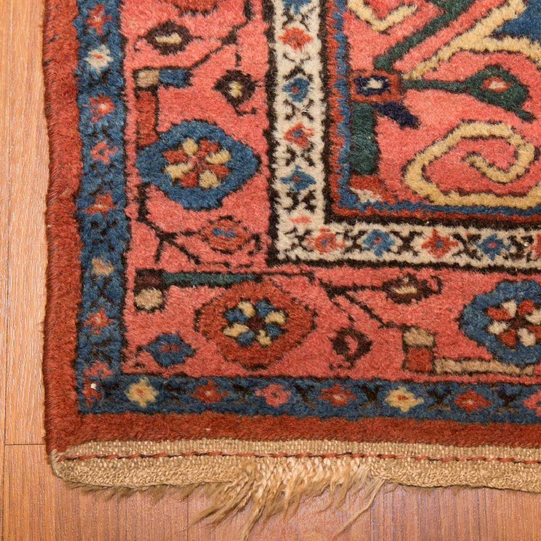 Antique Hamadan rug, approx. 3.7 x 6.4 - 2