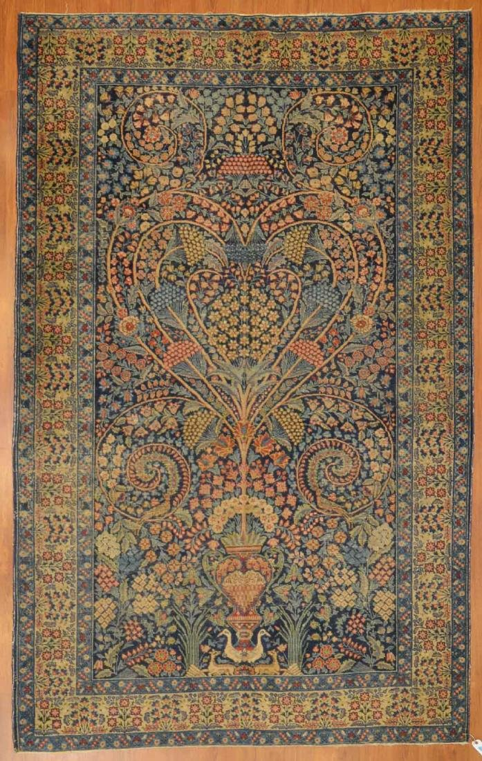 Turkish Floral rug, approx. 5.6 x 8.6