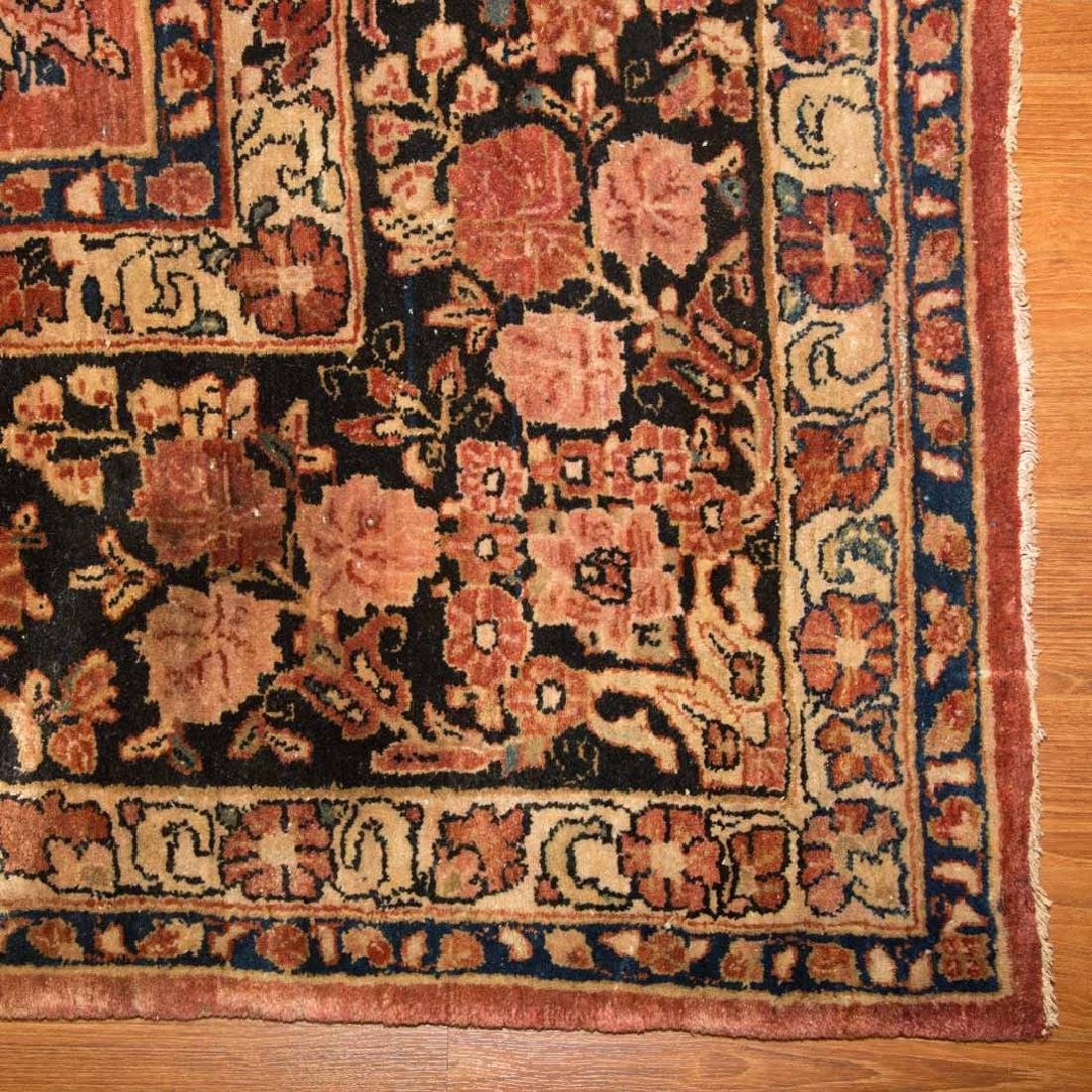 Antique Sarouk carpet, approx. 10.1 x 16.8 - 2