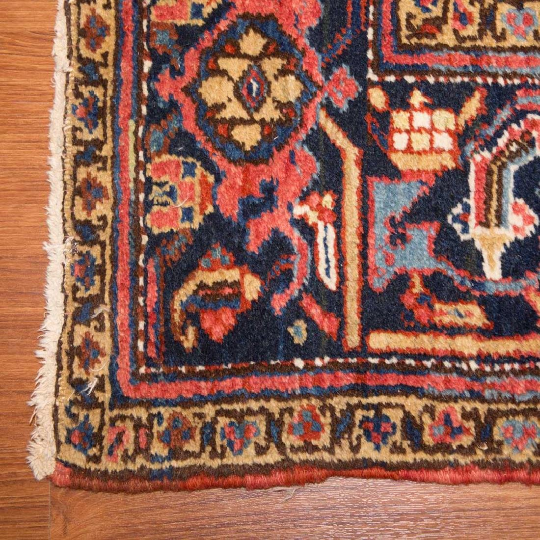 Persian Herez rug, approx. 8.9 x 11.4 - 2