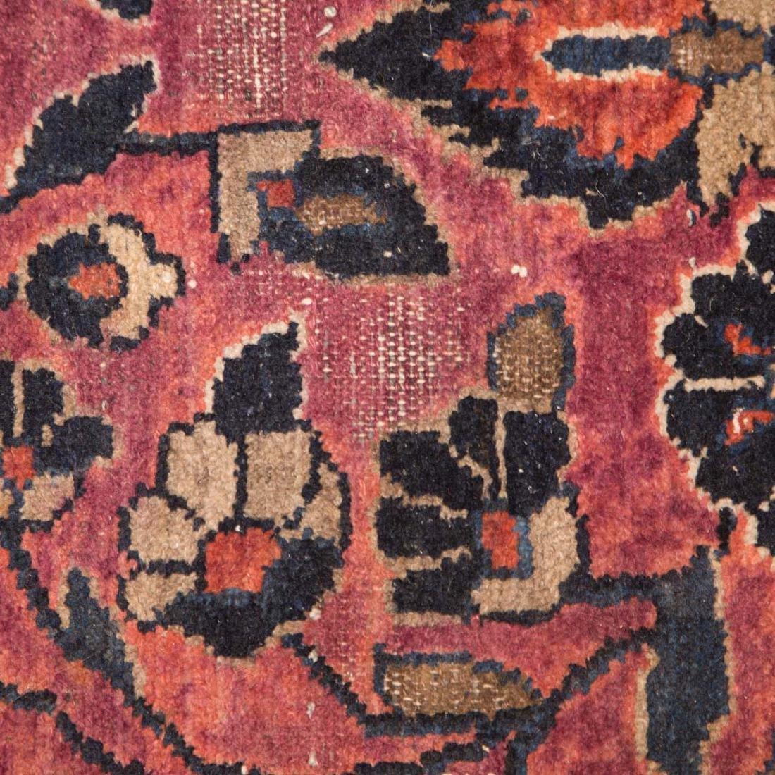 Antique Lilehan rug, approx. 5.5 x 7.3 - 4