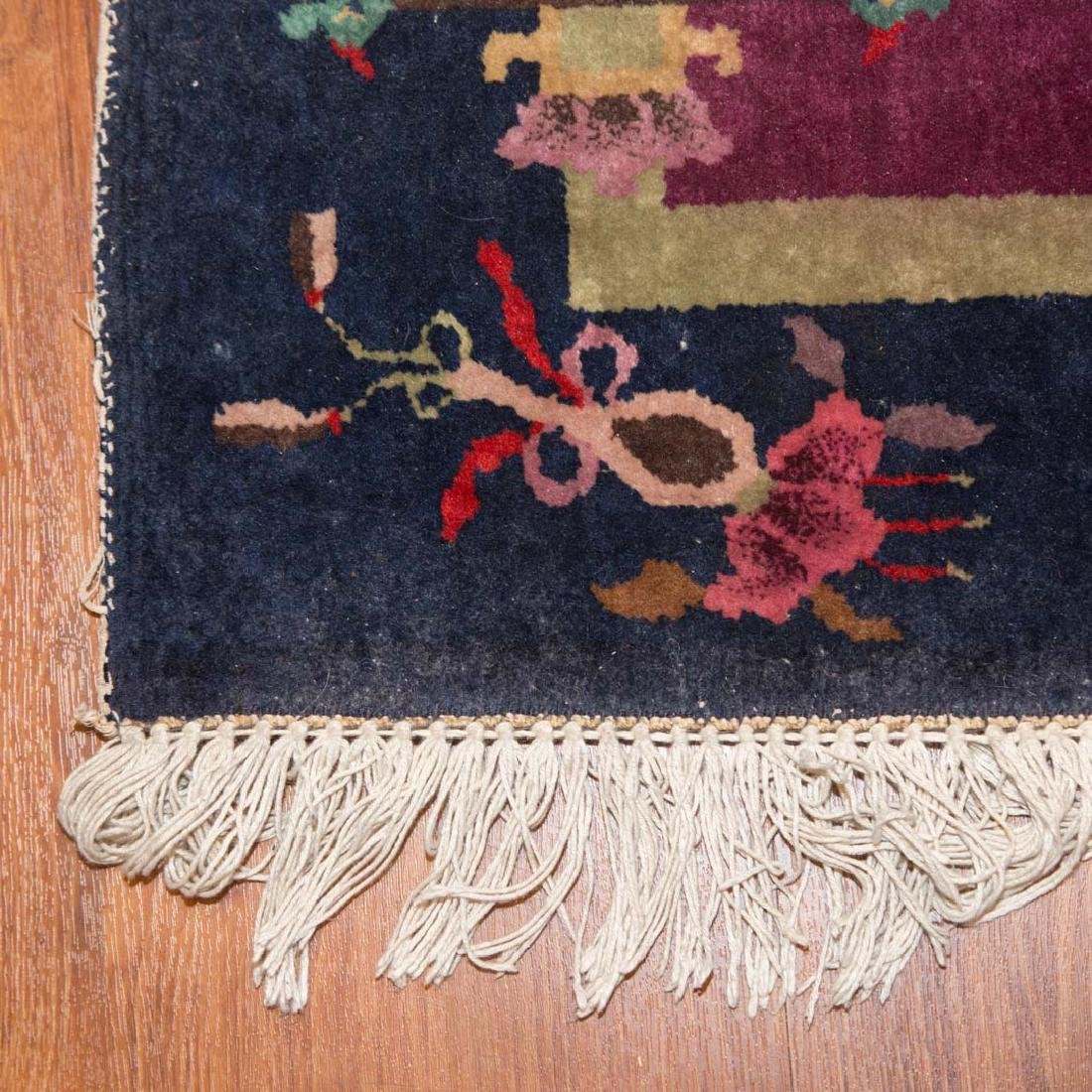 Two Chinese Nichols rugs, approx. 2.6 x 4 each - 3