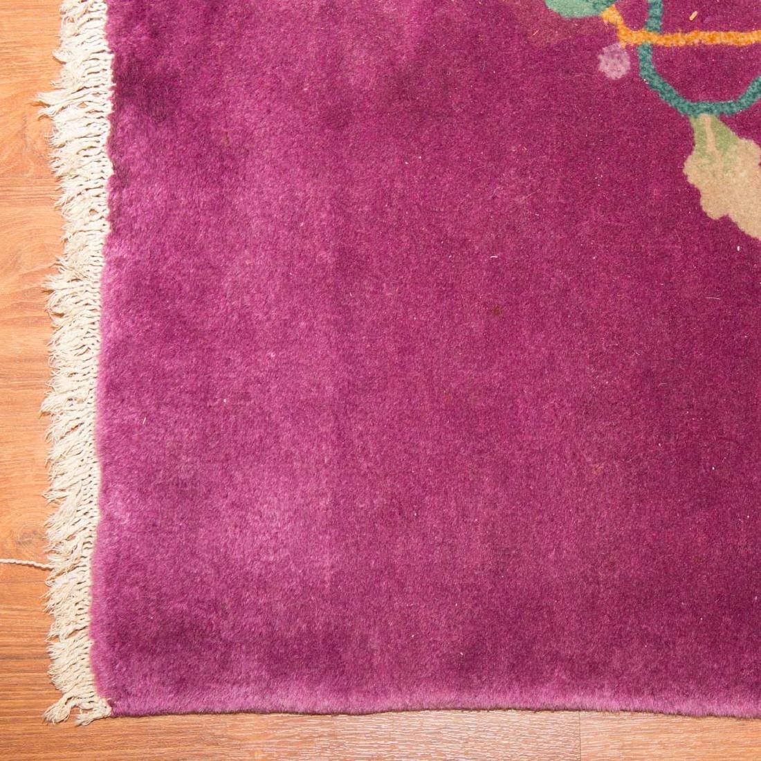 Antique Nichols carpet, approx. 8.9 x 11.3 - 2