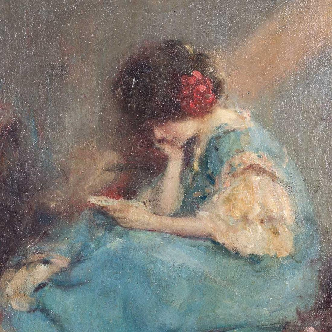 Murray Pervical Bewley. The Love Letter, oil - 4