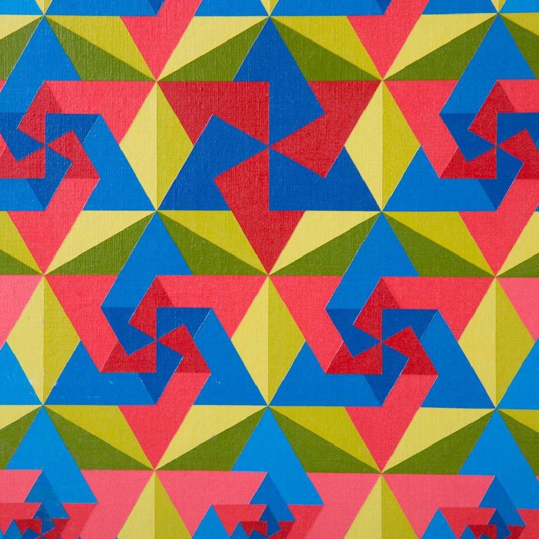 """Yaakov Kaszemacher. """"Jerusalem,"""" oil on canvas - 2"""