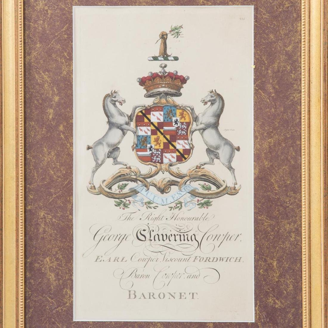 Joseph Edmondson. Baron Genealogy, 8 engravings - 3