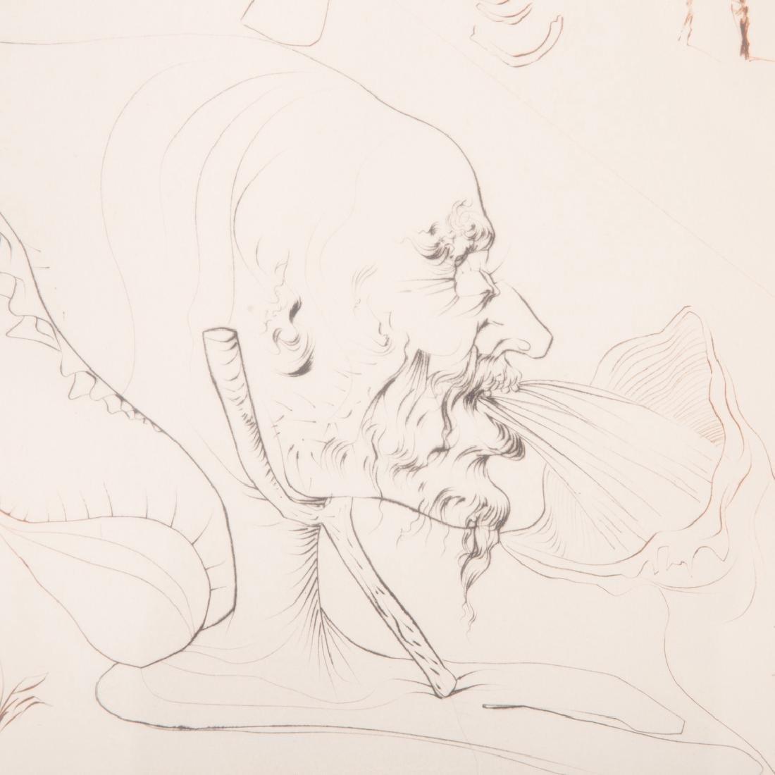 "Salvador Dali. ""L'Alchimie,"" etching - 2"