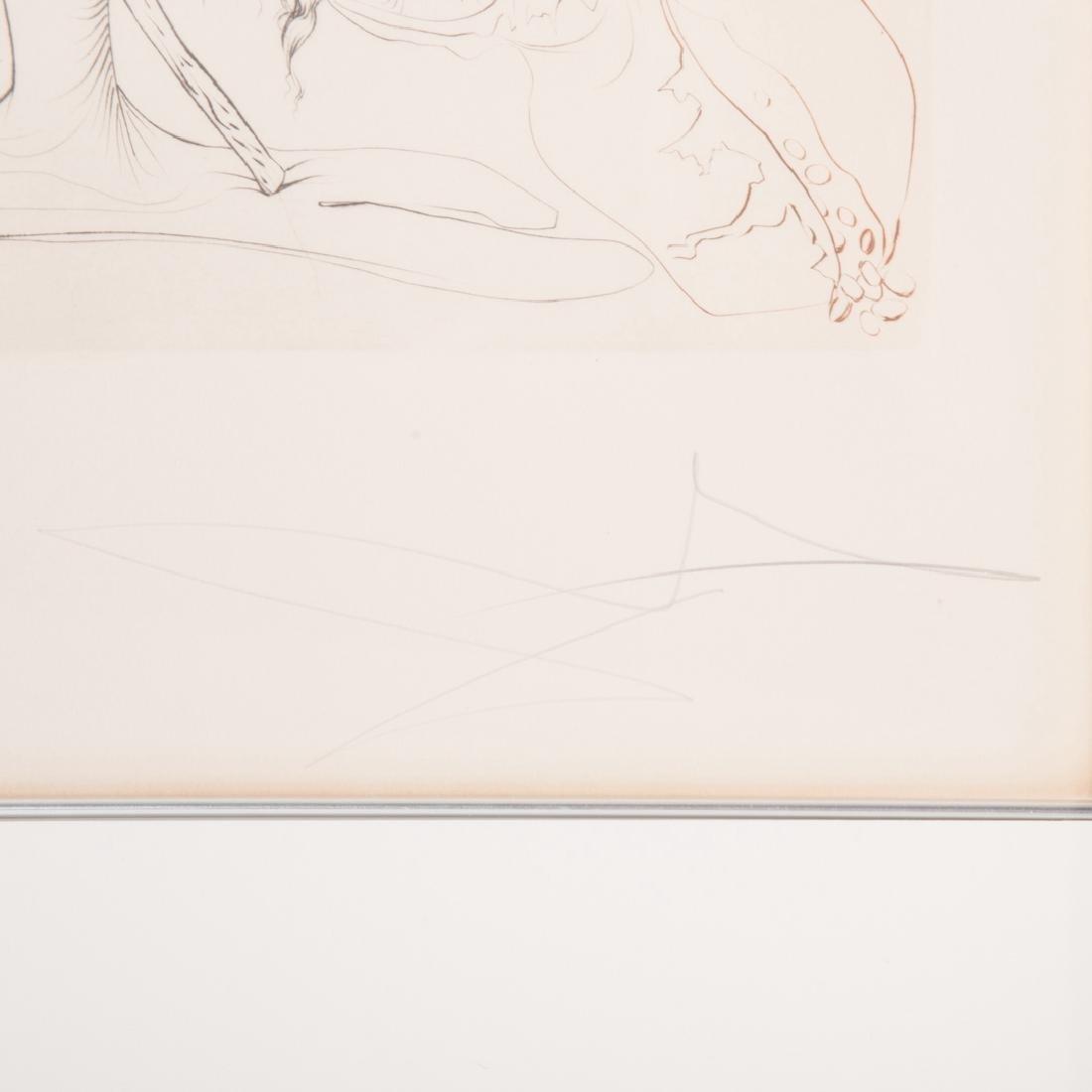 "Salvador Dali. ""L'Alchimie,"" etching - 3"